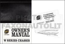 2006 Workhorse W Chassis Owners Manual Winnebago Voyage Suncruiser Sightseer