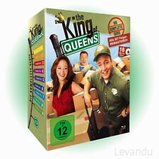 Blu-ray Box THE KING OF QUEENS - DIE KOMPLETTE SERIE (Staffel 1-9) - 18 Disc's