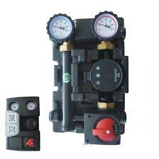 Pumpengruppe gemischt DN25 mit Grundfos ALPHA2 25-60, Mischer und Mischermotor