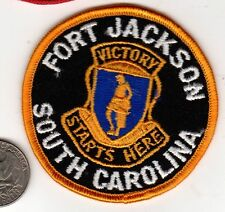 US Army Basic Combat Training BCT Graduate PATCH Fort Jackson South Carolina