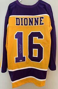 Marcel Dionne Autographed LA Kings Jersey Beckett COA