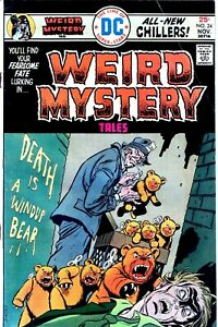 Weird Mystery Tales #24 - BRONZE AGE HORROR- DC Comics (1975) NO RESERVE!!