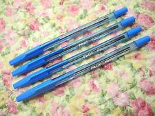 4pcs PILOT BP-S 0.7mm fine ball point pen /with cap Blue ink(Japan)