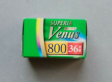 RARE Fujifilm Superia Venus 800 ISO 35mm Colour Negative Print Film - NEW
