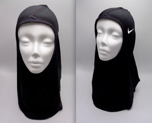 Nike Pro Hijab 2.0 Femmes XS / NOIR / Blanc