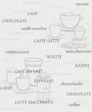 Rasch Tapete Aqua DEKO Kaffee WEISS Vliestapete 770421
