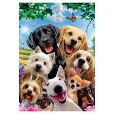 Everyday Banner Flag - Dog Selfie