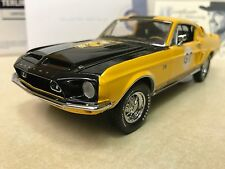 1/24 Franklin Mint 1968 Shelby GT 500KR Terlingua Shelby Signed Autographed.