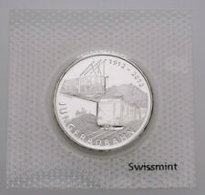 Künker: Schweiz, 20 Franken 2012, Jungfraubahn, Silber, Erhaltung!