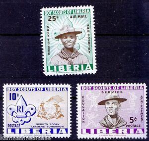Liberia 1962 MNH 3v, Boys Scouts, Sports