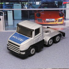 Scania Police Lorry Unit Siku Small Scale Die-cast Model Toy loose