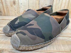 Valentino Garavani Pattern Flat Espadrilles Men's Camouflage Sz- EU 44 | US 11