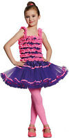 Ballerina Kinderkostüm lila-pink NEU - Mädchen Karneval Fasching Verkleidung Kos