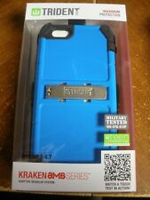 NEW Military tested Trident Iphone 6 4.7 Phone Case with Clip BLUE