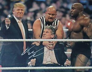 Vince McMahon Authentic Autographed 8x10 Photo w/ COA