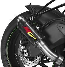 Hotbodies Racing MGP Growler Slip-On - Carbon Fiber KAWASAKI EX300 Ninja 300 etc