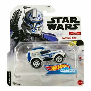 Hot Wheels Star Wars Character Cars CAPTAIN REX 2020  1st Appearance NEW on Card