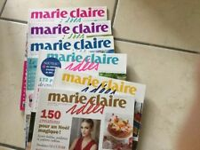 Lot De 6 Revues Marie Claire Idées Année 2014 Nº 100 A 105