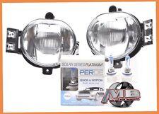 02 03 04 05 06 07 08 Dodge Ram 1500 Clear Fog Lights Bumper Lamp PERDE 9006 Bulb