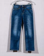 American Eagle Extreme Flex Light Tinted Original Straight Leg Jeans Sz 26 x 28