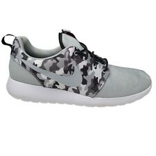NEW Mens NIKE Roshe One SE 844687 013 Athletic Shoes Wolf Gray/Black Camo 12.5