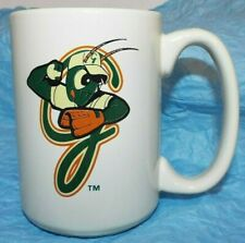 Miami Marlins MLB Greensboro Grasshoppers Minor League Baseball Cup Mug 4.5x3.25