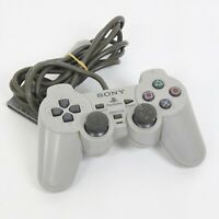 PS1 Analog Controller SCPH-1200 Gray Playstation Official Made in China C