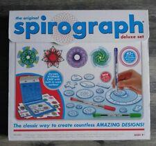 Original Spirograph Deluxe Design Complete Set 45-piece, 2014 *EUC*