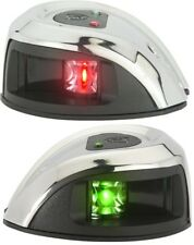 Attwood Red/Green LIGHTARMOR LED Stainless Steel Bow lights Pair NV1011SS
