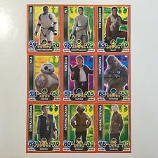 Star Wars Force Attax Extra_Movie Card Serie 4_10 Basiskarten zum aussuchen