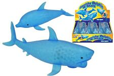 LIGHT UP SQUISHY DOLPHIN AND SHARK FISH WATER ANIMAL - ANTI STRESS RELIEVER !