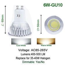 GU10 6W 9W 12W Dimmbar COB CREE LED Lampe Birne Spot Leuchte Kaltweiß Warmweiß