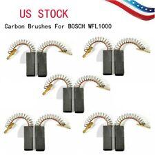 5 Pair Motor Carbon Brushes For BOSCH WFF2001 WFF2002 WFK2200 Washing Machine