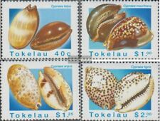 Tokelau 238-241 (complete issue) unmounted mint / never hinged 1996 Porzellansch
