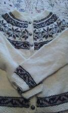 hand-knitted Fairisle Cardigan 14-16