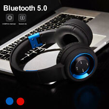 Wireless Bluetooth 5.0 Headphones Foldable Over Ear Stereo Earphones Headset Mic