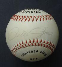 PETE ROSE  Signed Baseball  Autographed   JSA