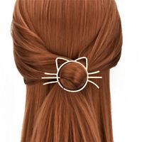 Women Kids Cute Animal Cat Hair Pin Hair Clip Barrette Pin Hair Accessories F le