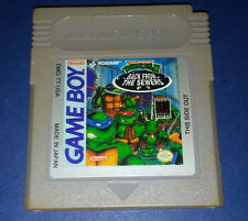 Teenage Mutant Ninja Turtles II: Back From The Sewers (Nintendo Game Boy, 1991)