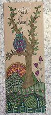 SEArts Read Til Dawn Hand Drawn Color Illustration Bookmark Book Lover Gift