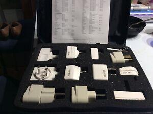 9 Targus European Travel Pack Worldwide in zippered case