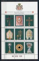 Religion Art Jewellery Sovereign Order of Malta MNH stamps sheet