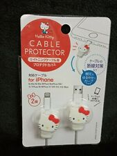 Hello Kitty Cable Protection For IPhone  22x28x12mm 2pcs
