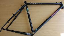 "Retro Troger Columbus Genius Steel Mountain Bike Frame 18"" Vintage Nivachrom"