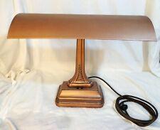 Vintage Art Deco Fluorescent Desk Lamp Restored and Antiqued
