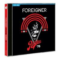 FOREIGNER - LIVE AT THE RAINBOW '78 (BLU-RAY+CD)   BLU-RAY+CD NEW+