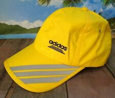Adidas Yellow Hook & Loop Adjustable Reflective Baseball Cap Hat