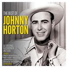 JOHNNY HORTON - THE BEST OF 2CD