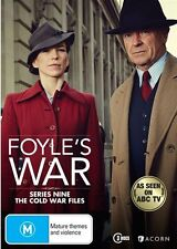 Foyle's War : Season 9 (DVD, 2015, 3-Disc Set)