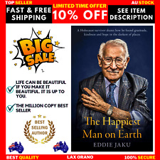 The Happiest Man on Earth by Eddie Jaku | HARDCOVER BOOK | NEW | FREE SHIPPING